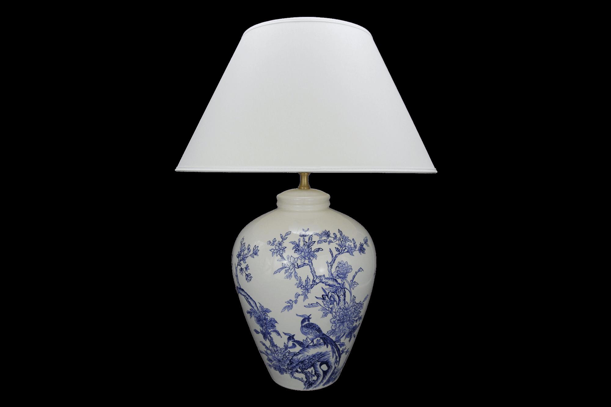 Lampa Amfora Średnia Japońskie Ptaki